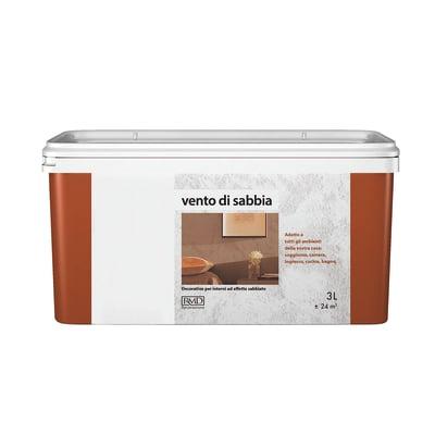 Pittura ad effetto decorativo vento di sabbia ambrato 3 l for Pittura vento di sabbia