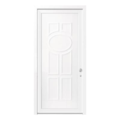 portoncino d'ingresso PVC Classic1 bianco L 90 x H 210 sx