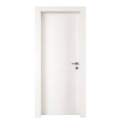 Porta da interno battente Rail bianco 80 x H 210 cm sx