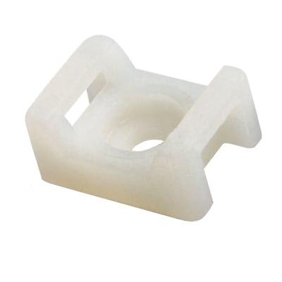 Base quadrata nylon naturale 22 x 16 mm