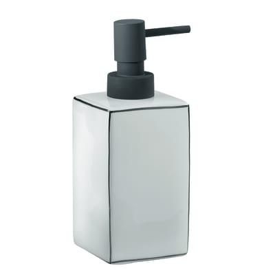 Dispenser sapone Lucrezia bianco/nero