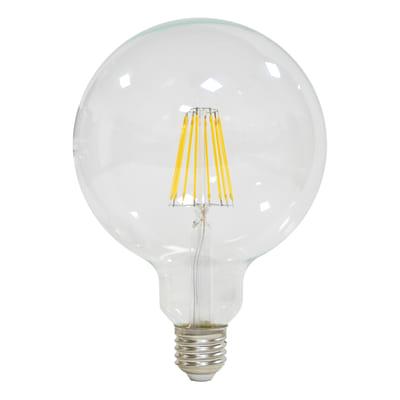 lampadina led lexman filamento e27 100w globo luce calda