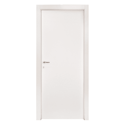Porta per bed & breakfast battente Holiday bianco 80 x H 210 cm dx