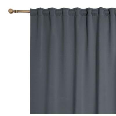Tenda Oscurante fettuccia e passanti nascosti grigio 140 x 280 cm