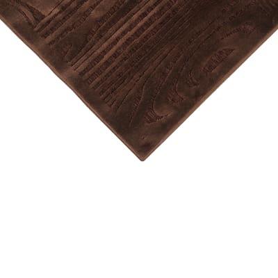 Tappeto Wenge marrone 140 x 200 cm