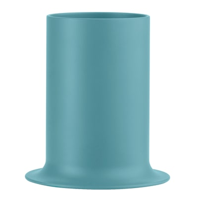 Porta posate e mestoli Porta utensili da cucina Taula - turchese blu L 13,5 x P 13,5 x H 14,9 cm