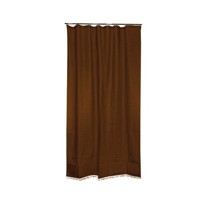 Tenda da sole ad anelli marrone 200 x 300 cm