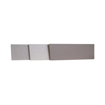 Alzatina su misura Porfido laminato grigio H 10 cm