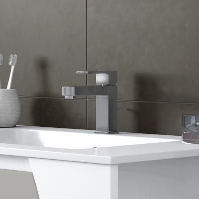 Mobile bagno Soft grigio nuvola L 80,5 cm