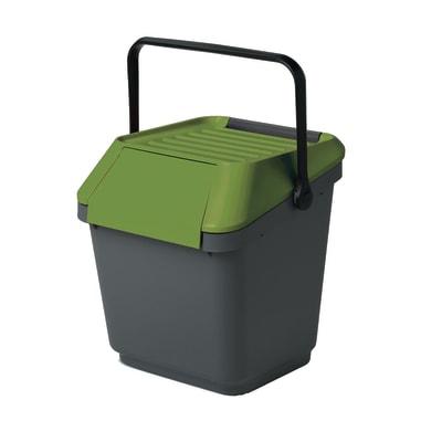 Pattumiera Easy 35 L grigio/verde