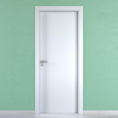 Porta da interno battente Cream bianco 60 x H 200 cm reversibile