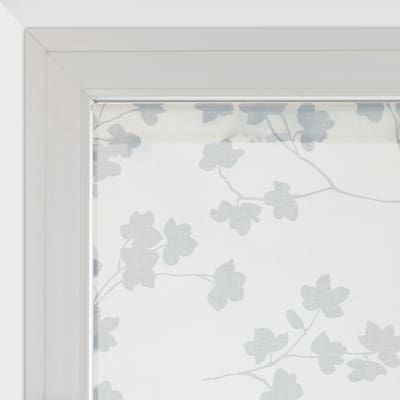 Tendina a vetro per portafinestra Lilly panna 45 x 230 cm