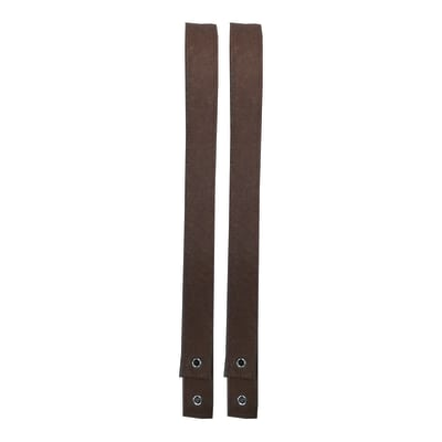 Reggimensola Feltro marrone 102 x 4 cm