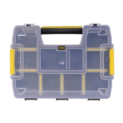 Valigetta porta minuterie SortMaster Light, colore nero/giallo