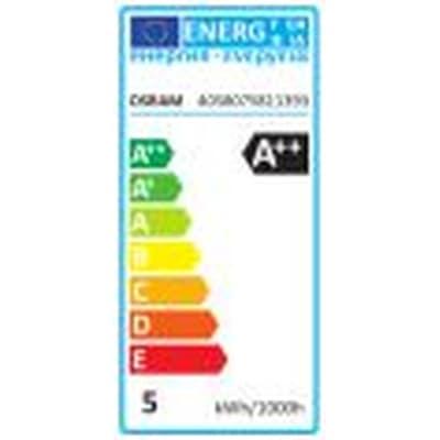 Lampadina LED Osram Filamento E14 =50W oliva verde 320°