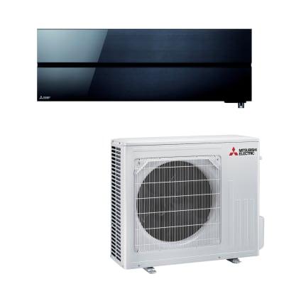 Climatizzatore fisso inverter monosplit Mitsubishi LN 18000 BTU classe A+++ nero