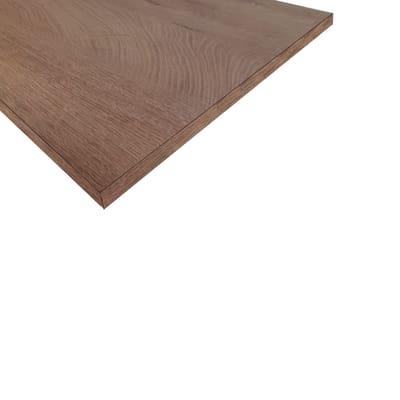 Ripiano melaminico rovere 18 x 400 x 600 mm