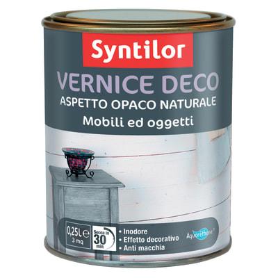 Vernice Syntilor Deco mobili e oggetti Bianca 250 ml