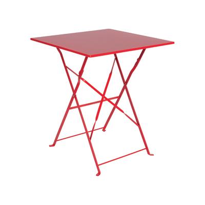Tavolo Da Muro Pieghevole Leroy Merlin.Tavolo Pieghevole Color 60 X 60 Cm Rosso Prezzi E Offerte Online