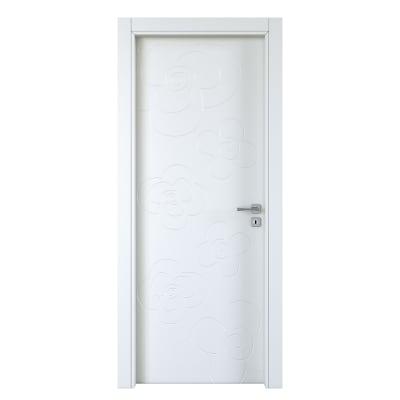 Porta da interno battente Flower silk 70 x H 210 cm sx