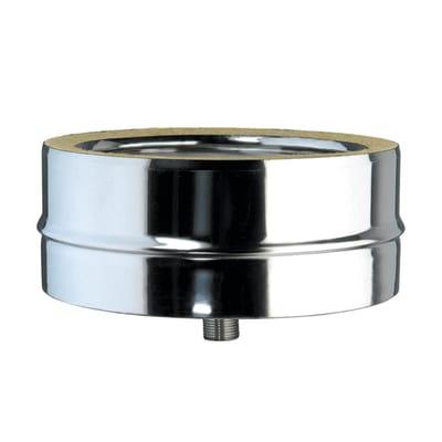 Scarico condensa doppia parete acciaio inox AISI 316L