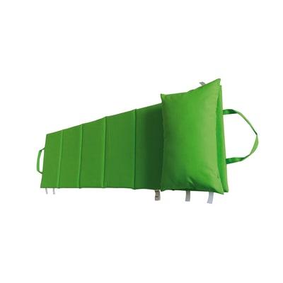 Cuscino pieghevole Beach verde chiaro 64 x 199 cm