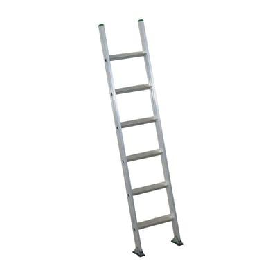 Scala ad appoggio alluminio Facal 6 gradini, per lavori fino a 3 m