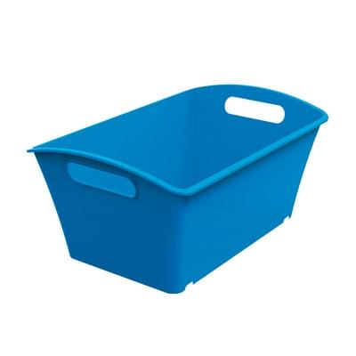 Cesta Q-In Box  5 L colori L 29,2 x P 19,2 x H 13,1 cm assortiti