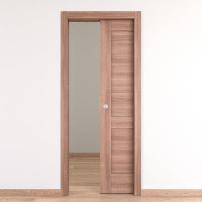 Porta da interno scorrevole Fusion 80 x H 210 cm reversibile