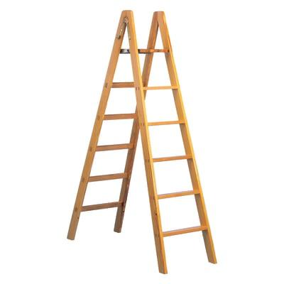 Scala doppia Legno Facal 10 gradini, per lavori fino a 4 m