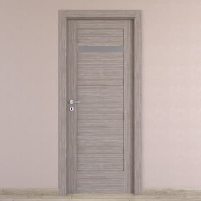 Porta da interno battente Capena 2 sabbia 60 x H 210 cm dx