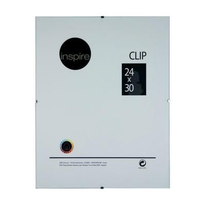 Cornice a giorno clip inspire trasparente 24 x 30 cm for Cornici a giorno misure standard