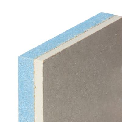 Lastra di cartongesso accoppiata con isolante 120 x 200 cm for Pareti cartongesso leroy merlin