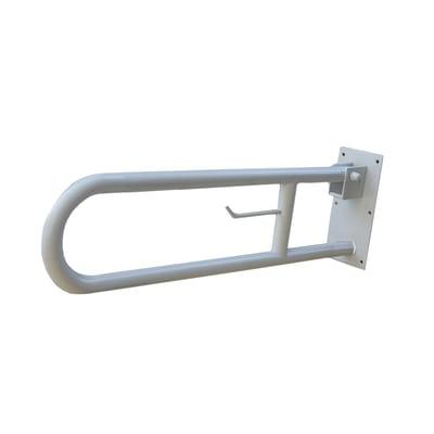 Barra d'appoggio wc/bidet in acciaio inox L 73 cm cromo lucido