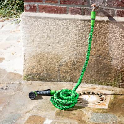 Tubo per irrigazione autoestensibile 25 m
