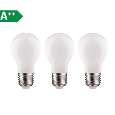 3 lampadine LED Lexman E27 =100W goccia luce naturale 360°