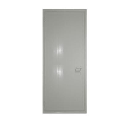 Porta da interno battente Pvc grey grigio 80 x H 210 cm dx