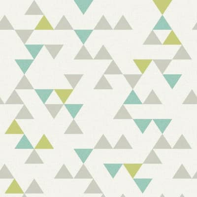 Carta da parati Triangolo Nordic multicolor 10 m
