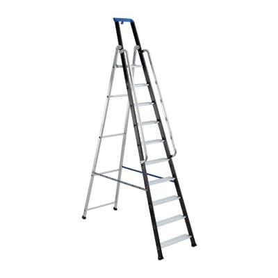 Scala doppia alluminio gierre 12 gradini per lavori fino for Scale alluminio leroy merlin