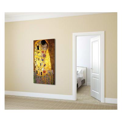 quadro su tela Bacio di Klimt 30x60