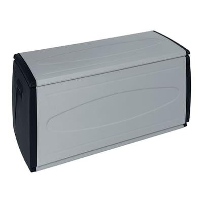 Baule Spaceo L 120 x P 54 x H 57 cm nero/grigio