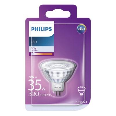 Lampadina LED Philips GU5.3 =35W luce naturale 36°