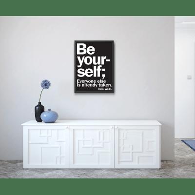 Stampa incorniciata Yourself 50 x 70 cm