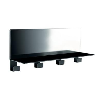 Mensola Vanity nero L 40 x P 10, sp 1,6 cm