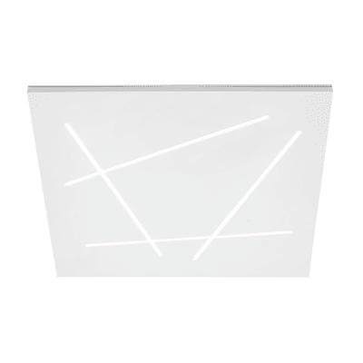 Plafoniera Flat bianco L 45 x H 5,6 cm