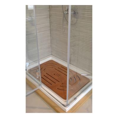 pedana doccia in compensato marino naturale 96 x 57 cm ForCompensato Marino Leroy Merlin