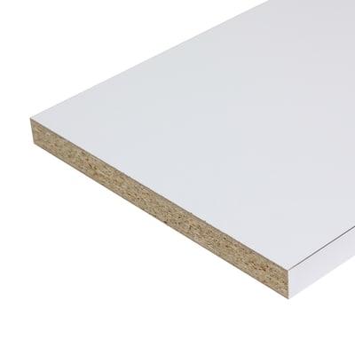 Pannello melaminico bianco 25 x 300 x 2500 mm