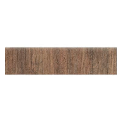 Battiscopa Sequoia marrone chiaro 8 x 33,3 cm