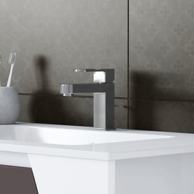Mobile bagno Soft grigio L 116,5 cm