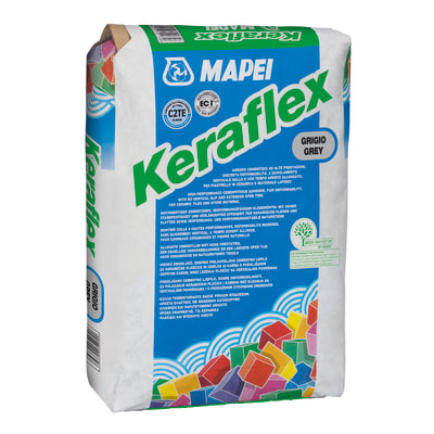 Colla in polvere Keraflex C2 bianco 25 kg